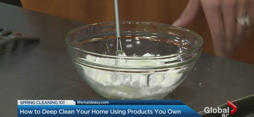 Spring Cleaning With Homemade, Natural Cleaning Products