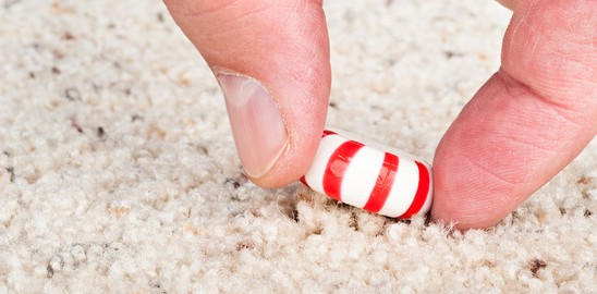 How to Remove Sticky Candy From Carpet