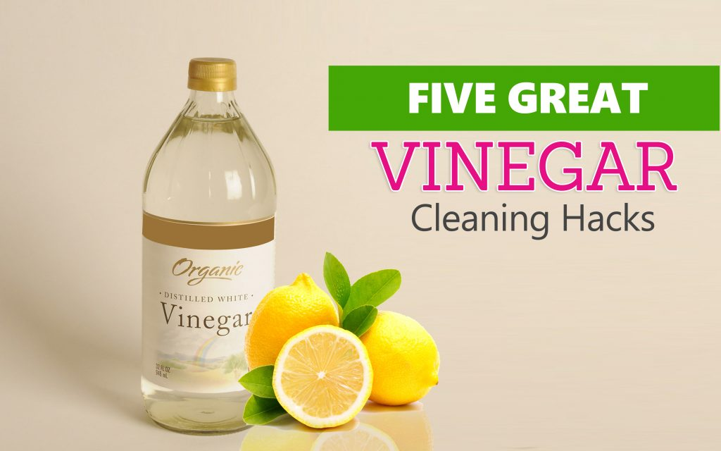 Vinegar House Cleaning Hacks