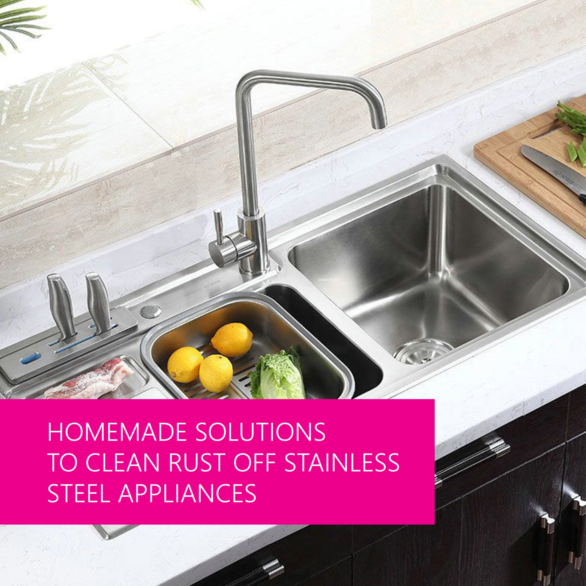 Homemade Solutions To Clean Rust Off Stainless Steel Appliances Life Maid Easy